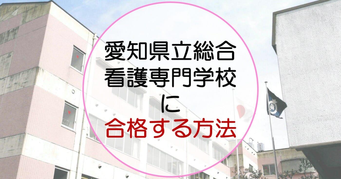 2021年度版 愛知県立総合看護専門学校の科目別対策